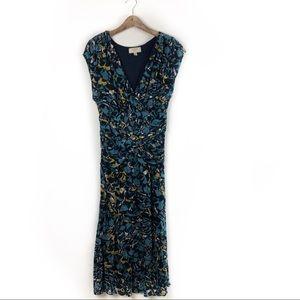 Moulinette Soeurs vetements Anthro Dress Blue L